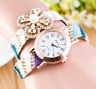 Femme Montre Tendance Quartz Tissu Bande Bracelet Montre / bracelet Bayadère