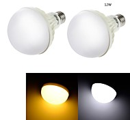 YouOKLight® 2PCS E27 12W CRI>70 18*SMD5630 850LM  Cold White 6000K/ Warm White 3000K LED Globe Bulbs (AC220-240V)