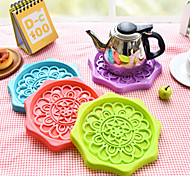 Creative Multipurpose Lace Draining Mat Cup Kettle