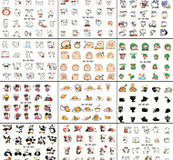 10pcs WeChat Expression A Series Of Cartoon Nail Art Since The Glue The 3D Stickers Applique