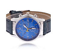 Men's European Style Hot New Fashion Casual Leather Wrist Watch Cool Watch Unique Watch