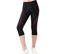Wosawe Unisex Ciclismo Bicicletta Pantaloni / 3/4 Collant Pantaloncini EstateTraspirante / Asciugatura rapida / Design anatomico /
