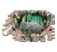 Animais / Botânico / Desenho Animado / Romance / Moda / Feriado / Paisagem / Formas / Transporte / Fantasia / 3D Wall Stickers