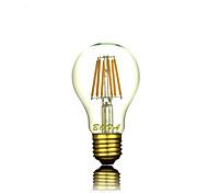 Bombillas LED de Globo Regulable / Decorativa NO A60(A19) E26 / E26/E27 5W 6 COB 200-500 lm Blanco Cálido AC 100-240 V 1 pieza