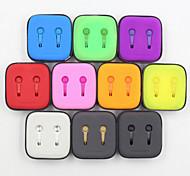 Cuffie di 3.5mm per iphone iphone 6s 6 più iphone 5s / 5 e altri mobili (colori assortiti)