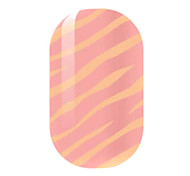Orange Hollow Nail Stickers
