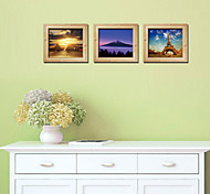 Romance  3D Wall Stickers Stereoscopic Photo Frame Landscape 3D Wall Stickers,pvc 30*90CM