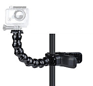 Gopro Hero Accessories Jaws Flex Clamp Arm Mount and Adjustable Goose Neck for GoPro Camera Hero 4/3+/3/2/1 Black