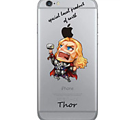 Creative Cute Cartoon TPU Phone Case for iPhone 6/6S/6 Plus/6S Plus