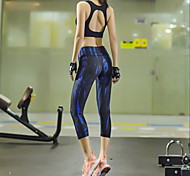 Running Tights / Leggings / Bottoms Women's Breathable / Quick Dry / Compression / Sweat-wicking TactelYoga / Pilates / Exercise &