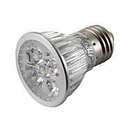 4W E26/E27 Focos LED MR16 4 LED de Alta Potencia 400 lm Blanco Cálido / Blanco Fresco Regulable / Decorativa AC 85-265 V 1 pieza