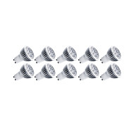 10pcs MORSEN® GU10 5W 350-400LM Support Dimmable Light LED Spot Bulb