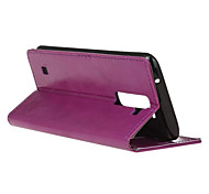 Flip Cover Wallet Style with Card Slot for LG Stylus 2/LS775 Case Fashion Crazy horse Texture Case (Assorted Colors)