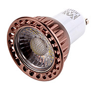 7W GU10 Focos LED MR16 1 COB 600 lm Blanco Cálido / Blanco Fresco Regulable / Decorativa AC 100-240 / AC 110-130 V 1 pieza