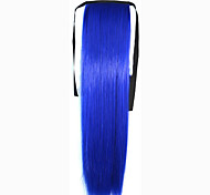 The New Color  Bundled Horsetail Blue  Hair Ponytail
