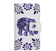 For Samsung Galaxy Case Card Holder / with Stand / Flip / Pattern / Magnetic Case Full Body Case Cartoon PU Leather Samsung A7