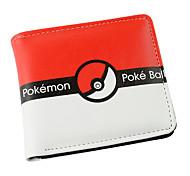 Pokemon-Autres-Rouge-Cuir PU