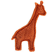 Giraffe Shape Tooth Cleaning Green Loofah Pet Dogs Toys