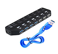 USB 3.0 7 porte / interfaccia hub USB inseribile separatamente 15.8 * 4.5 * 1.9