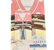 letra da série hanfu definir envelope (3 envelope 6 artigos de papelaria, artigos de papelaria envelope 8,6 * 17,6 centímetros, 18,5 *