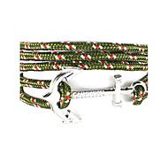 Bracelet Wrap Bracelet Fabric / Nylon Cross / Anchor Friendship / Punk Style / Hip-Hop / Multi-ways Wear Daily / Casual / Sports Jewelry