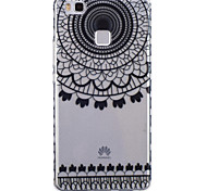 Sunflower Pattern PU Material Phone Case for Huawei P9 Lite/P9