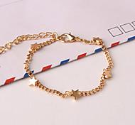 Women's New European Style Fashion Fresh Simple Star Charm Bracelets