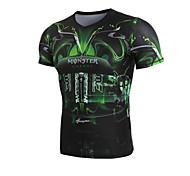Short Sleeve  Black Compression Clothing/Yoga/Leisure Sports/Running/Racing/Cycling/Bike