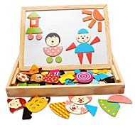 legno incantesimo incantesimo magnetico, i bambini tavolo da disegno magnetico, i giocattoli educativi per bambini della prima infanzia