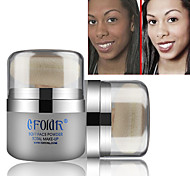 1PCS CFOLDR Whitening Face Foundation(Powder Puff&Mirror in,3 Color Choose)
