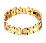 Men's Jewelry Health Care Stainless Steel Magnetic Bracelet