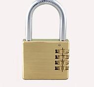 Luggage LockForLuggage Accessory Metal Gold 10.2*5*1.5
