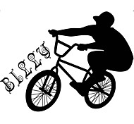 Shapes / Transportation Wall Sticker People / Abstract / Sports Bicycle 3D Wall Stickers Plane Wall Stickers,vinyl
