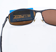 js - 0223 ossat Mode Fahrer polarisierte Gläser Outdoor Brille Radbrille - Sand und Schwarz