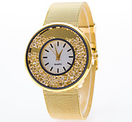 Women's Watch Geneva Gold And Silver Alloy Thin Ball Quicksand Belt Quartz Watch(Assorted Colors) Cool Watches Unique Watches
