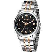 Men's fashion leisure steel band watch