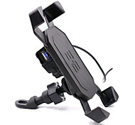 moto conducente supporto mobile elettronica Holder caricatore mobile interfaccia USB con l'interruttore