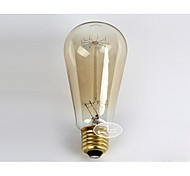 E27 AC220-240V 40W Incandescent Light Bulbs Lighting Antique Edison Halogen Bulbs