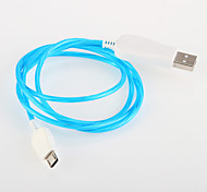 LED  Flash light  USB for Samsung Android Smartphone General Cable (1.0 M)