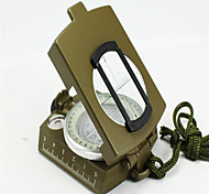 Compasses Pocket / Convenient Hiking / Camping / Travel / Outdoor Alloy Metal Green