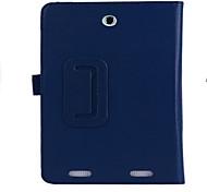 cuoio del basamento magnete con slot per schede e copertura della cassa del supporto della mano per scheda acer inconia 8 w1-810 tablet