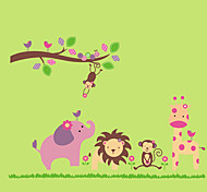 Animales / Botánico / Caricatura / Naturaleza muerta / De moda / Florales / Ocio Pegatinas de pared Calcomanías de Aviones para Pared,PVC