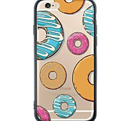 iPhone 6s Plus/6/iPhone 6s/6 TPU Doughnut Soft Back Cover