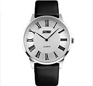 Men And WomenLuxury Leather Brand Quartz Wristwatch Fashion Watches