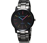 Men's Dress Watch Sport Quartz Analog Wrist Watch Stainless Steel Band Fashion Watch Cool Watch Unique Watch