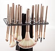rack de pincel de maquiagem escova de secagem cremalheira de secagem de armazenamento de rack (sem escovas)
