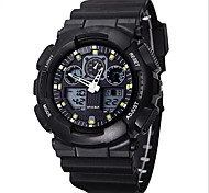 Men's Analog-Digital Water-Resisstant Multi-Functional Sports Watch Wrist Watch Cool Watch Unique Watch