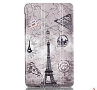 цветной рисунок или узор пу кожаный м2 компания Huawei (PLE-703l) молодежная версия случай специального крепежа крышки смарт