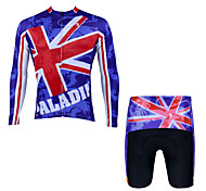 PaladinSport Men 's Cycyling Jersey + Shorts suit DT001 American flag