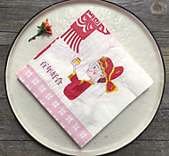 100% virgin pulp Wedding Napkins-20 Piece/Set Luncheon Napkins Dinner Napkins